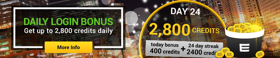 Get up to 2,800 credits daily!