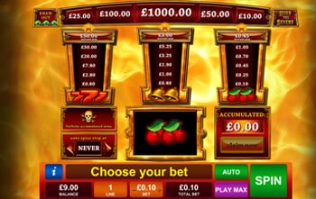 casino online poker burn the sevens online