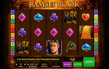 Online Casino Book Of Ramses